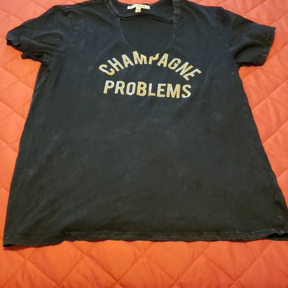 Express Tops - Champagne Problems Shirt